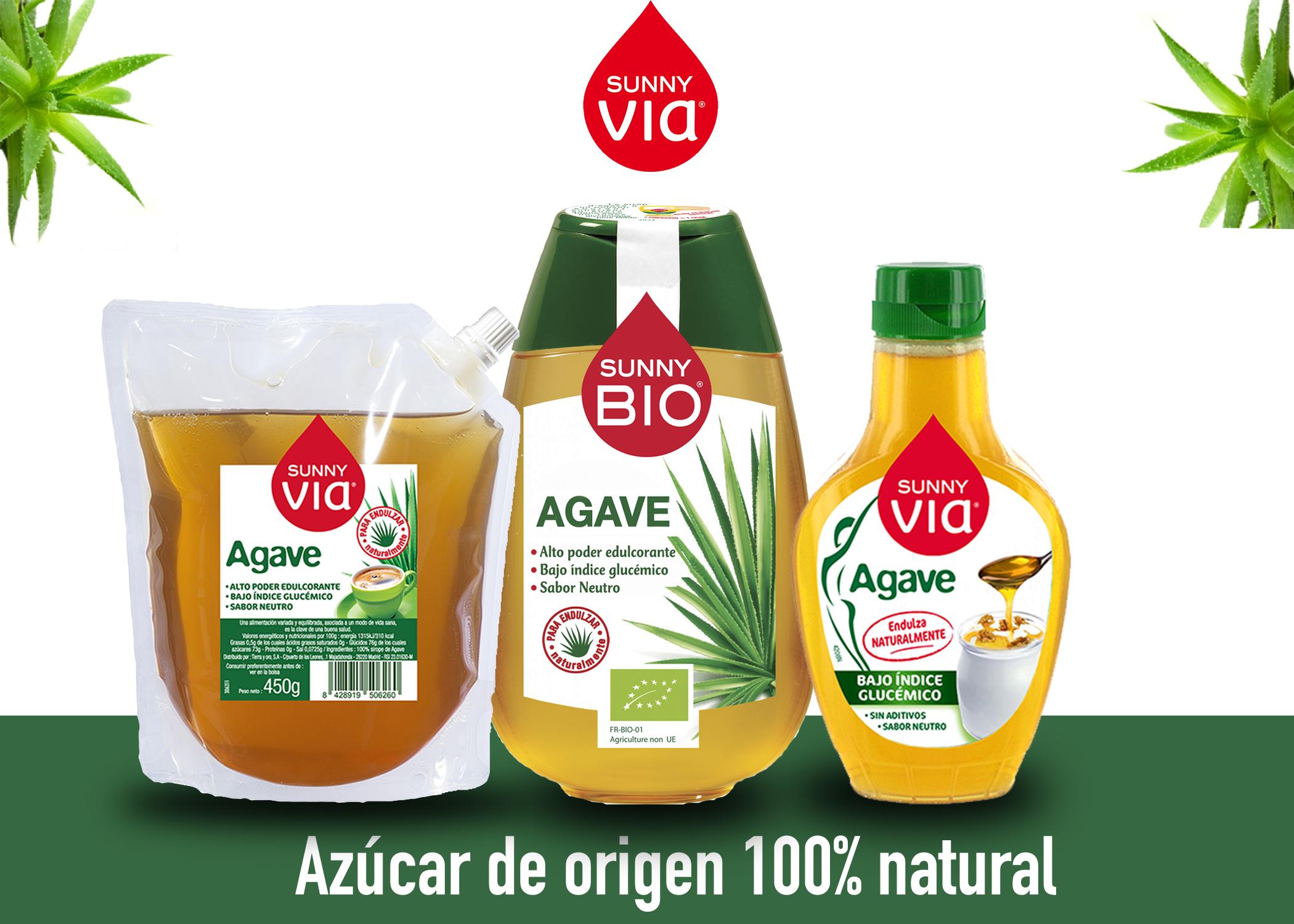 indice glucemico sirope de agave